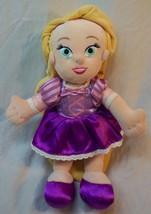 "Disney Store Tangled CUTE TODDLER RAPUNZEL GIRL 12"" Plush Stuffed DOLL - $16.34"
