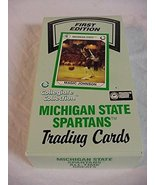 1990-91 Michigan State Spartans Collegiate Collection Wax Box with 36 Pa... - $24.26