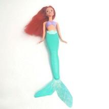 "Disney The Little Mermaid Ariel Doll 14"" Molded Plastic and Vinyl Mattel... - $13.97"