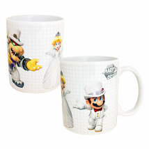 Super Mario Odyssey Who Will Peach Choose 11oz Coffee Mug White - $16.98