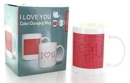 I Love You Color Changing Secret Message Heat Sensitive Porcelain Morphi... - £9.30 GBP