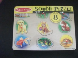 Melissa and Doug Pets Sound Puzzle - $9.99