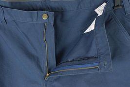 NWT CARHARTT Blue Cotton Dungaree Fit Carpenter Work Pants Mens Size 44 x 32 image 3