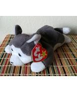 "TY Beanie Baby NANOOK 1996 Style 4104 Tag ""ERRORS"" Plush Husky Dog Toy R... - $7.50"