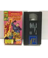 "FANTASTIC FOUR  ""The Menace of MAGNETO"" cartoon VHS Marvel Video 1991 Pr... - $8.50"