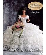 Miss June 1991 Antebellum Barbie Doll Outfit Crochet PATTERN/INSTRUCTIONS - $3.57