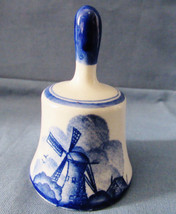 Vintage Royal Delft Windmill Dutch Holland Bell #2 - $6.92