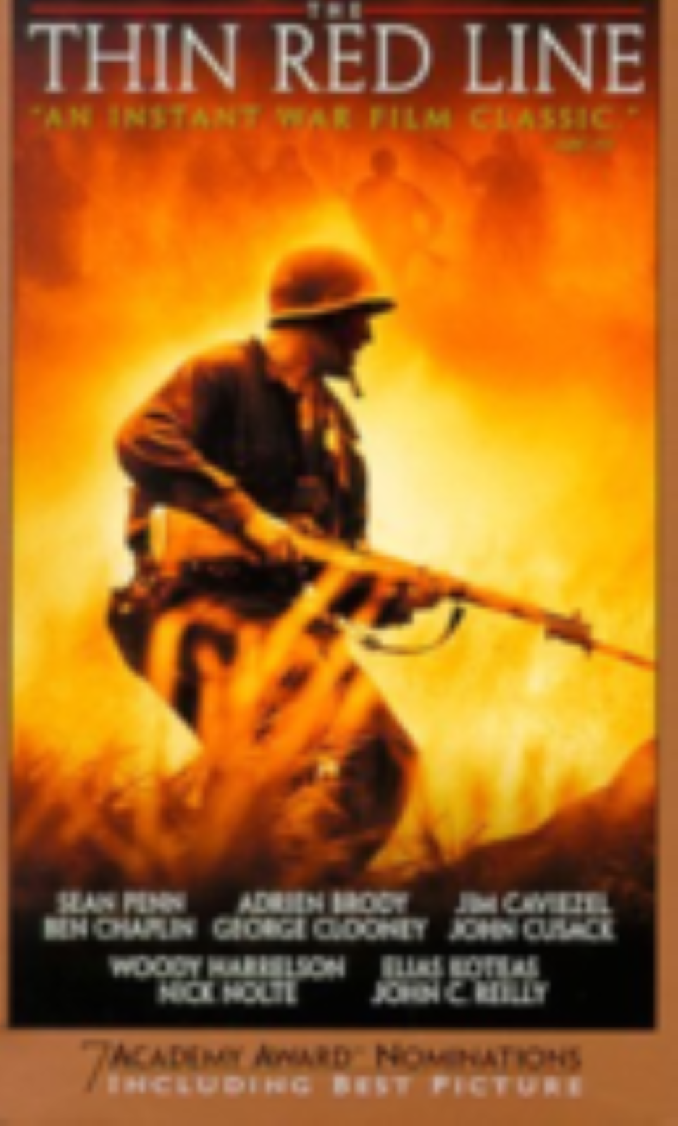 The Thin Red Line Vhs