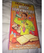 Dean Jones Mister Superinvisible VHS Tape Mr. Super Invisible - $11.07