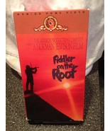 1971 Fiddler On The Roof MGM UA Home Video 2 VHS Tape Collectible Set Ve... - $11.99