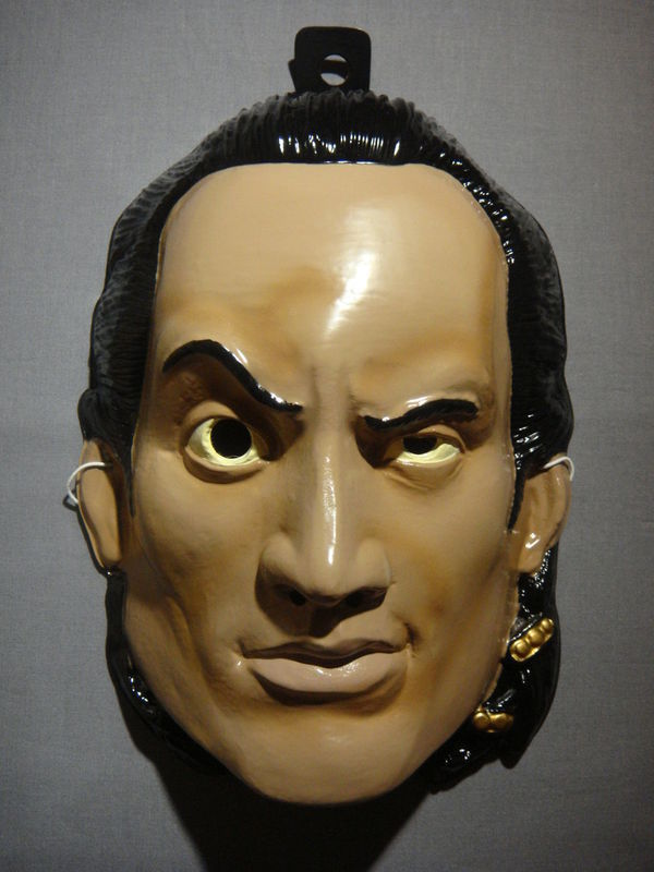 THE SCORPION KING THE ROCK WWE HALLOWEEN MASK PVC NEW