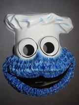 Sesame Street Cookie Monster Halloween Mask Pvc New - $10.95