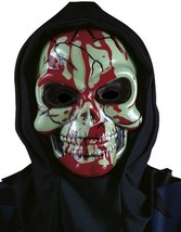 SKULL MASK BLOOD GUSHIN SCARY LIVE BLOOD DRIP RUBIES - $9.99