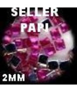 1100 Rhinestones  ROSE  Mixed Shapes lots Jewels Crafts - $15.51