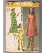 Designer SIMPLICITY 9014 - Miss Dress, Tunic, P... - $6.00