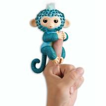 WowWee Fingerlings Monkeys - Fingerblings - Glam (Turquoise/Blue) - Friendly - $29.99