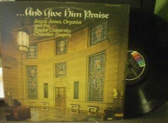 Joyce Jones - ...And Give Him Praise - Word Records WST-8611