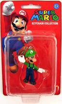 Super Mario Keychain 2 inch Mini Figure - Luigi Brand NEW! - $24.99