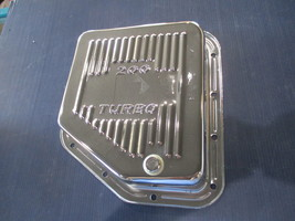 CHROME Steel Turbo 200 Transmission Pan w/Bolts --RPC 200T  Chevy Auto. - $32.00