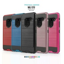 Phone Case for LG G8 ThinQ, [Protech Series] Shockproof Defender Hybrid ... - $19.90