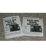 Backup Your DVD Movies--Easy-to-Follow Instructions! - $5.99