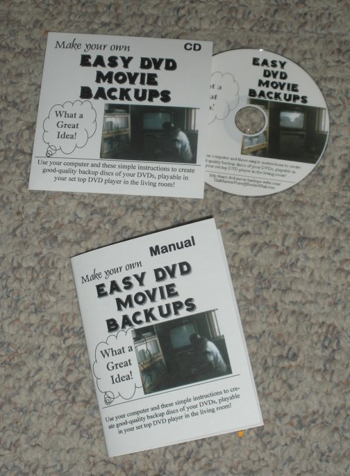 Backup Your DVD Movies--Easy-to-Follow Instructions!