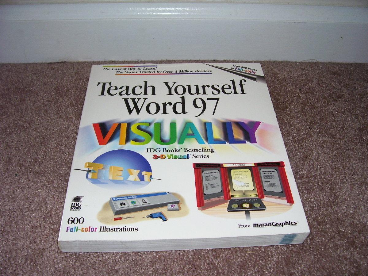 Teach yourself word 97 visually book