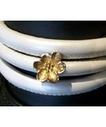Story by Kranz & Ziegler, Flower Charm, Gold Pl... - $60.00