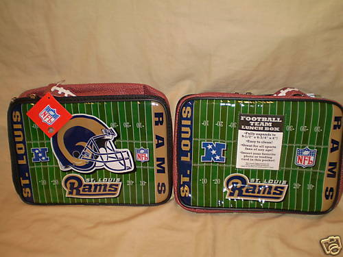 ST LOUIS RAMS LUNCH BOX / BAG LICENSED FOOTBALL NFL NEW