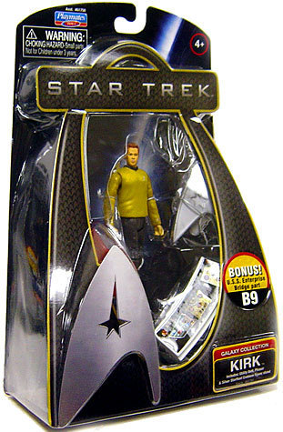 STAR TREK CAPTAIN KIRK GALAXY COLLECTION FIGURE NEW