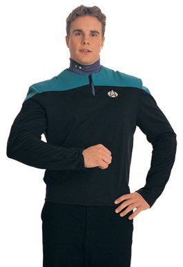 STAR TREK DEEP SPACE NINE DR BASHIR COSTUME SMALL NEW