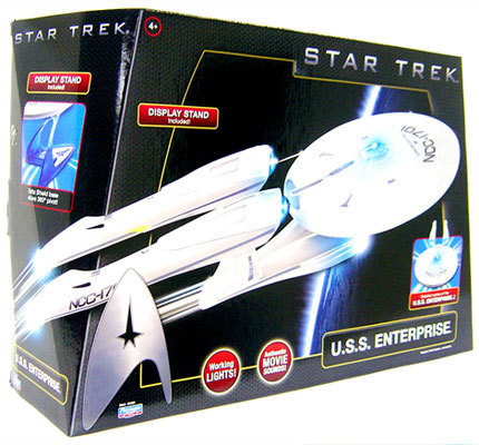 STAR TREK STARSHIP U.S.S. ENTERPRISE TOY REPLICA NEW