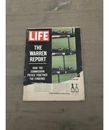 Vintage October 2 1964 LIFE Magazine The Warren Report - $3.00
