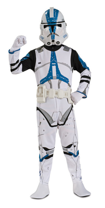 STAR WARS CLONE TROOPER HALLOWEEN COSTUME NEW CHILD SZ
