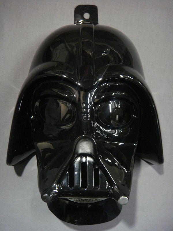 STAR WARS DARTH VADER HALLOWEEN MASK PVC NEW