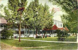 The Inn Winona Lake Indiana 1911 Vintage Post Card - $3.00