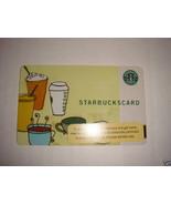 STARBUCKS CARD 2006 DRINKS GIFT CARD  - $9.99