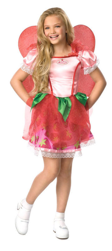 STRAWBERRY SHORTCAKE FAIRY TODDLER HALLOWEEN COSTUME SIZE AGES 1-2 NEW