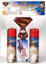 SUPERMAN INSTANT FUN STREAMER COSTUME ACCESSORY OVER 600 FEET OF FUN WIT... - $6.49