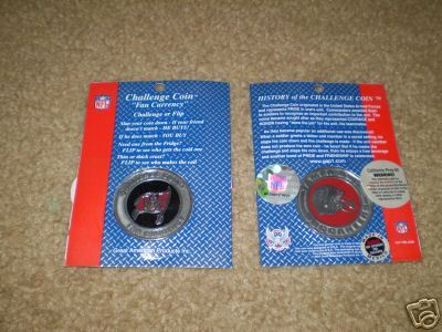 TAMPA BAY BUCCANEERS CHALLENGE COIN FAN CURRENCY NFL