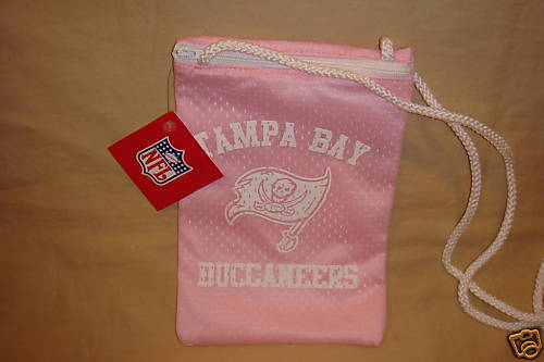 TAMPA BAY BUCCANEERS JERSEY PURSE PINK PURSE NFL NEW