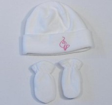 Baby Phat Girlz Fleece Winter Hat & Mittens Infant One Size 9-18 Months NWT - $24.74