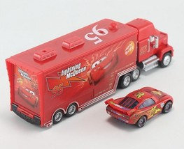 Pixar Cars No.95 Mack Uncle Trunk Small Car Lightning McQueen Toy For Ch... - $26.99