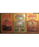Trixie Belden (3) Square pbs 3, 5, 7 Golden - $2.50
