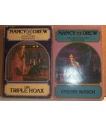 Two Nancy Drew PB Wanderer #73 Match #57 Triple... - $3.50