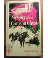 Mystery of the Crimson Ghost HB by Phyllis A. W... - $3.99