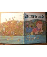 Songs for 4's and 5's Broadman Music Book 1960 - $4.49