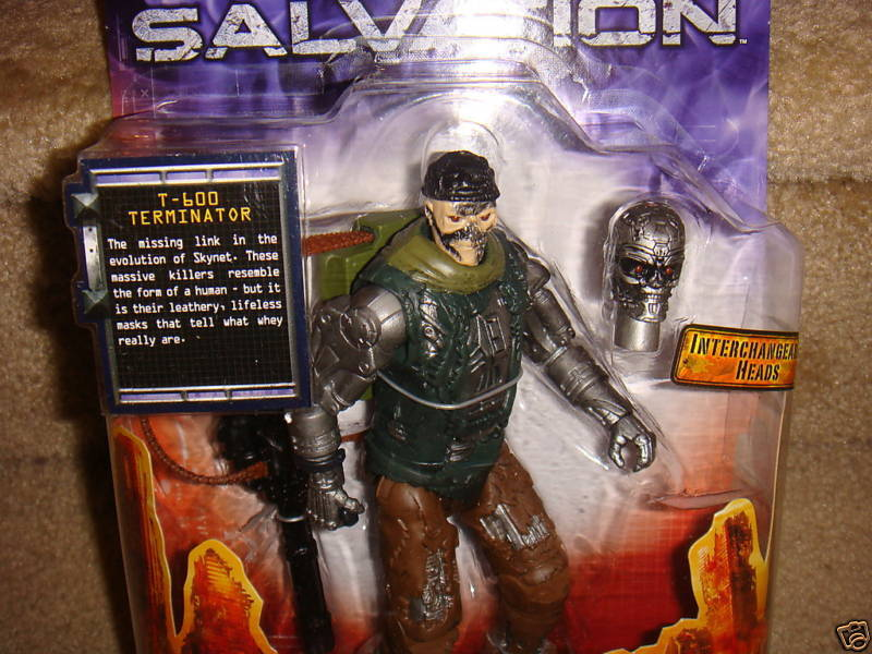 TERMINATOR SALVATION T-600 ACTION FIGURE 6 INCHES