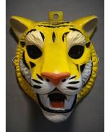 TIGER SAFARI JUNGLE ZOO ANIMAL HALLOWEEN MASK PVC NEW - $7.95