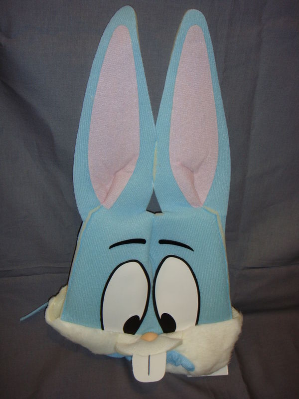 TINY TOONS ADVENTURES BUSTER BUNNY FOAM HEAD PC